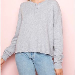 Brandy Melville Allie fleece top